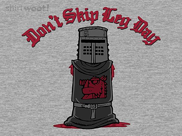 Woot!: Don't Skip Leg Day