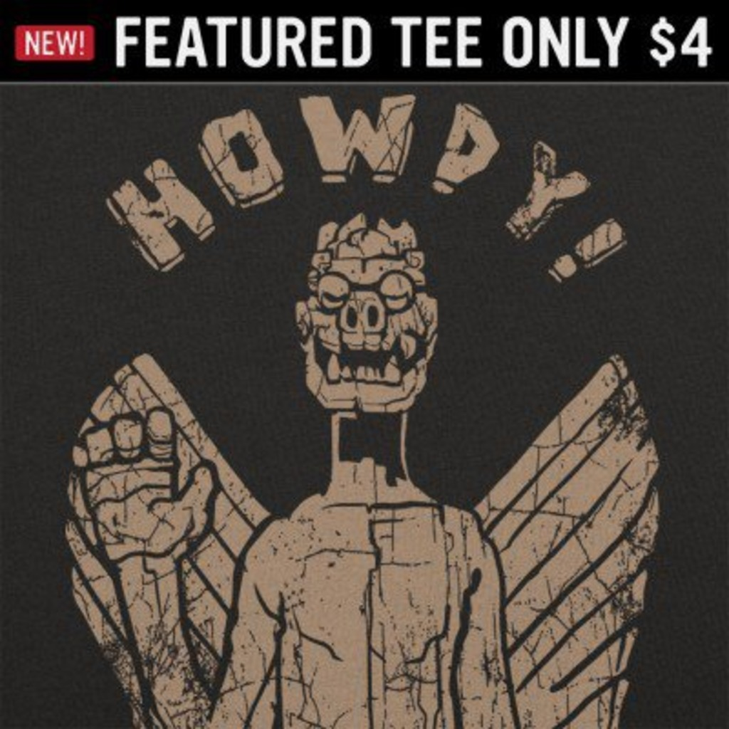6 Dollar Shirts: Captain Howdy