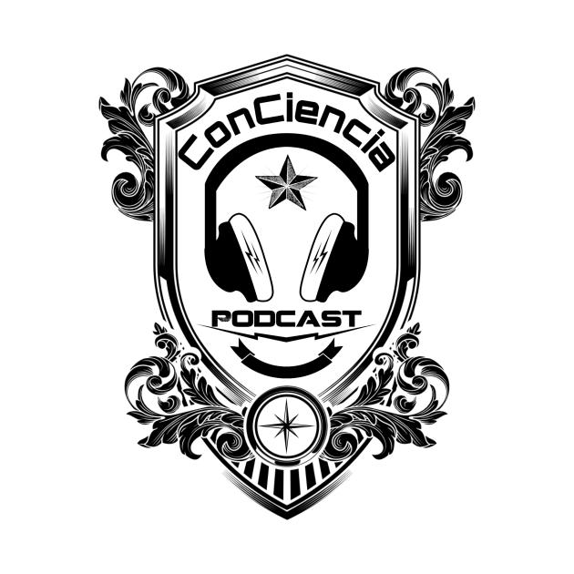 TeePublic: ConCiencia Shield White Design