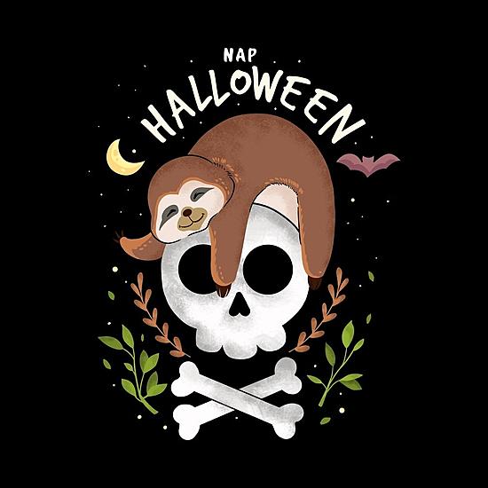 BustedTees: nap halloween