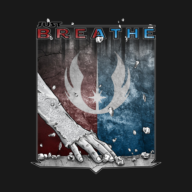 TeePublic: Just Breathe!