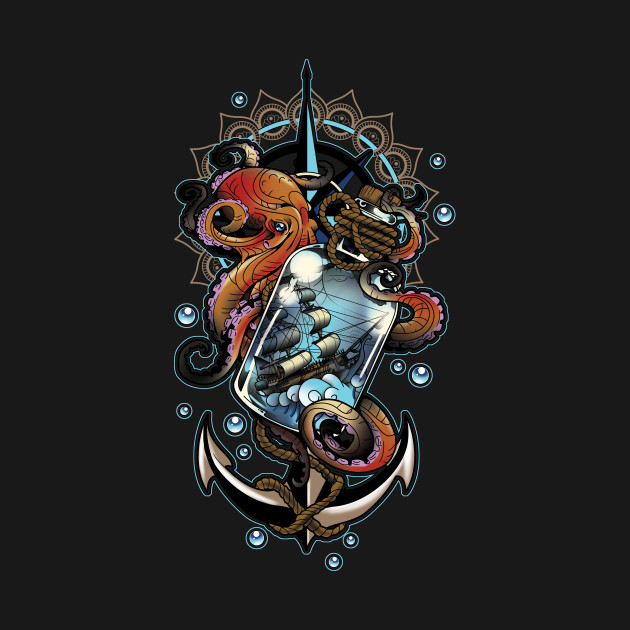 TeePublic: Someday I'll Be A Kraken