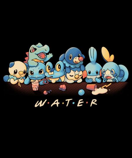 Qwertee: Water