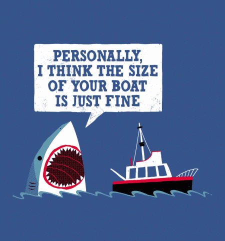 BustedTees: Polite Jaws