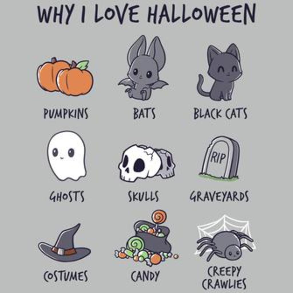 TeeTurtle: Why I Love Halloween