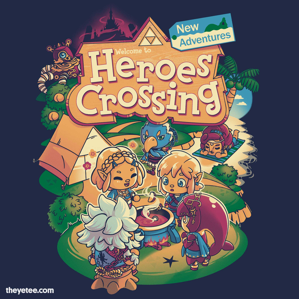 The Yetee: Heroes Crossing