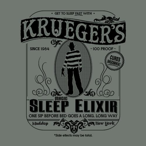 Five Finger Tees: Krueger's Magic Sleep Elixir T-Shirt