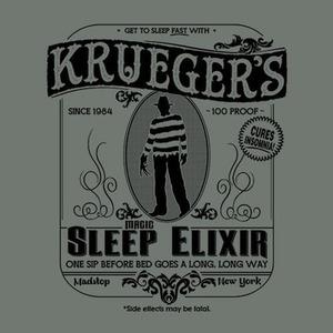 Five Finger Tees: Krueger's Magic Sleep Elixir T-Shirt