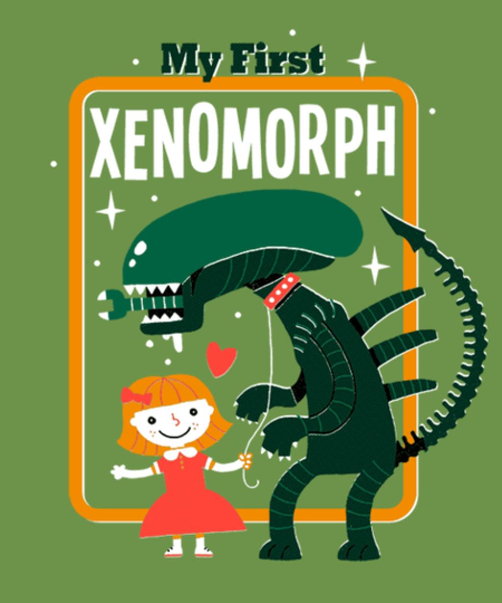 Qwertee: My First Xenomorph