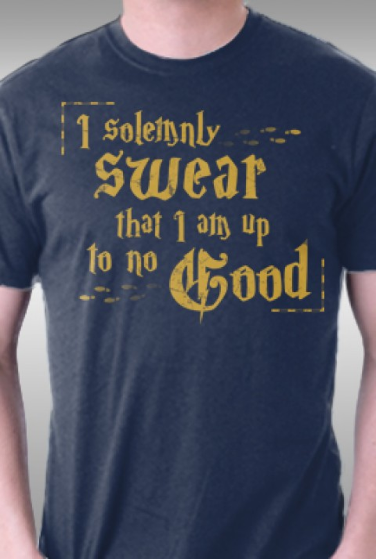 TeeFury: I Solemnly Swear