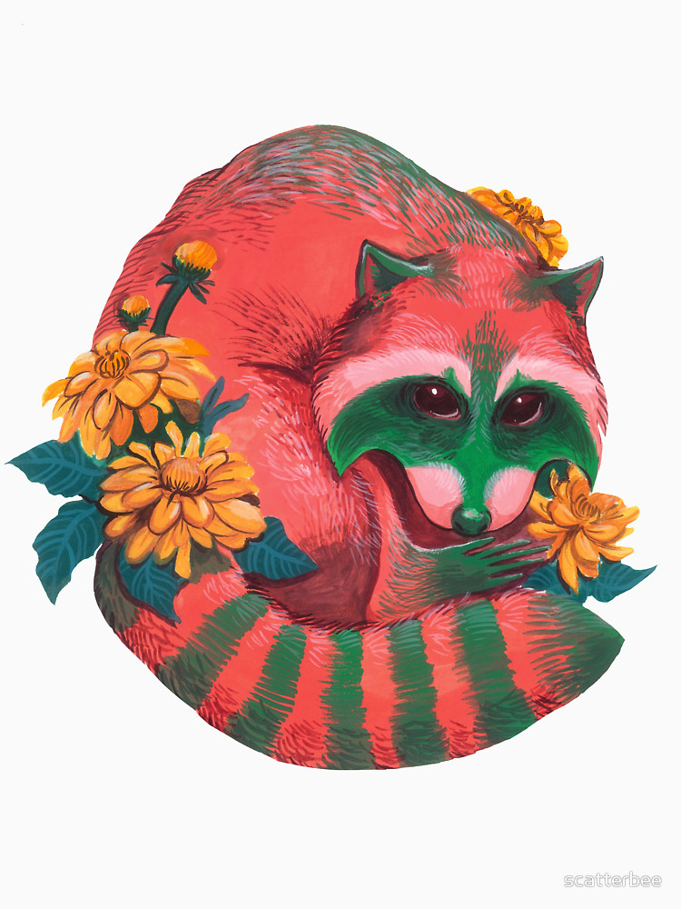 RedBubble: Watermelon Raccoon