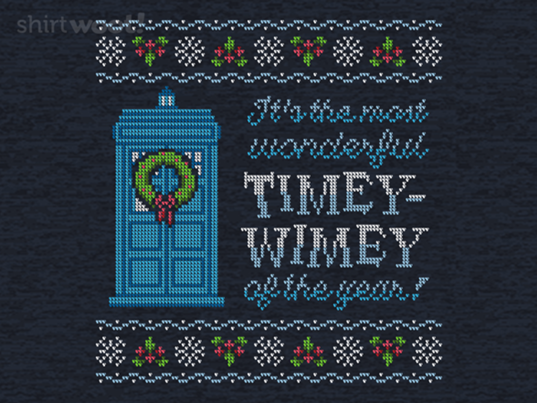 Woot!: Timey-Wimey Sweater