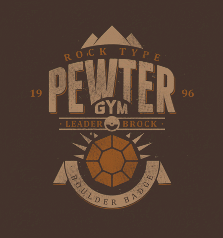 BustedTees: Pewter Gym
