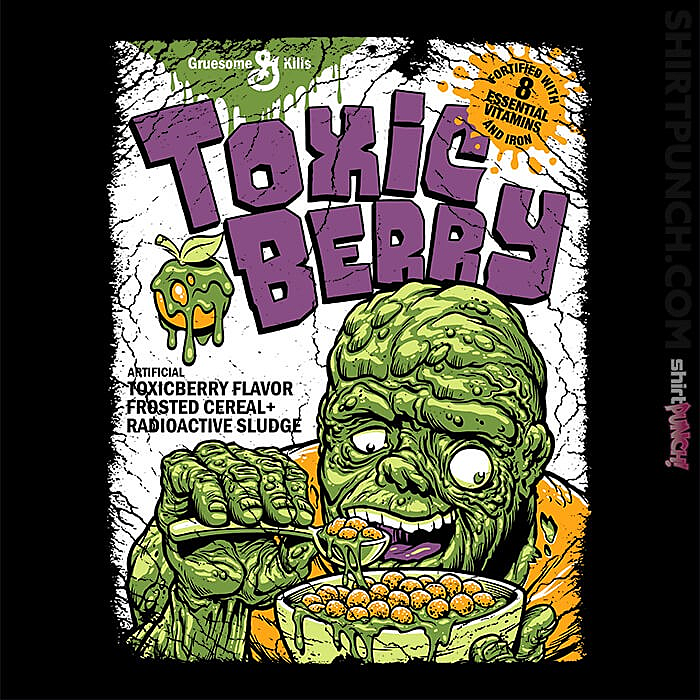 ShirtPunch: Toxicberry Cereal
