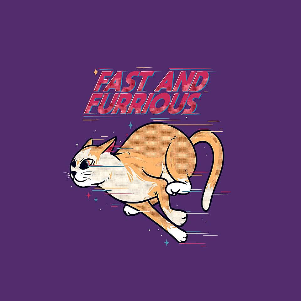 TeeFury: Fast And Furrious