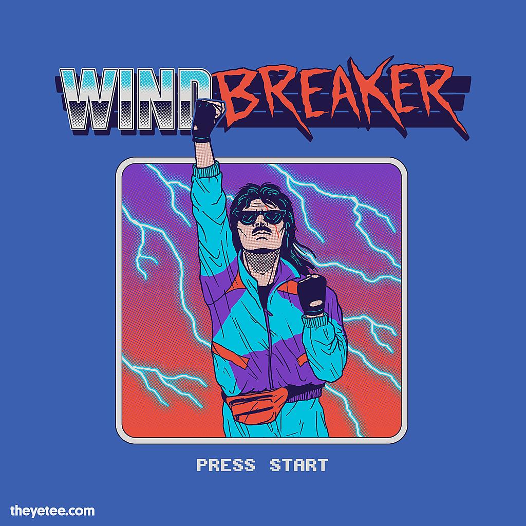 The Yetee: Windbreaker