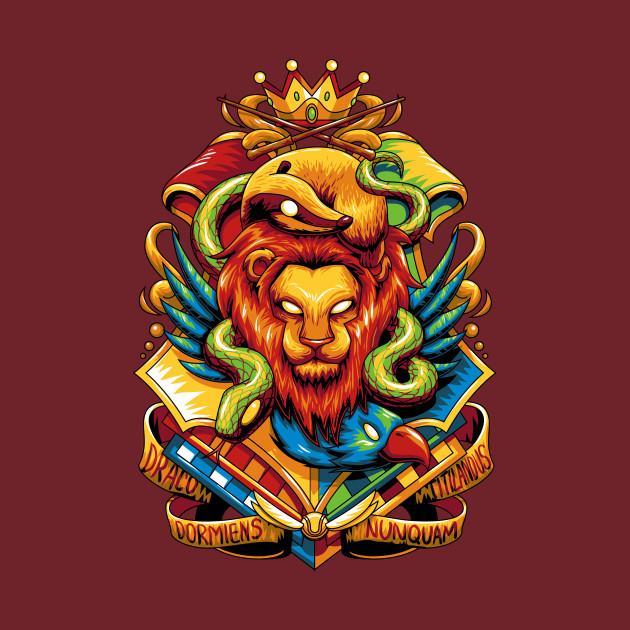 TeePublic: Hogwarts Houses