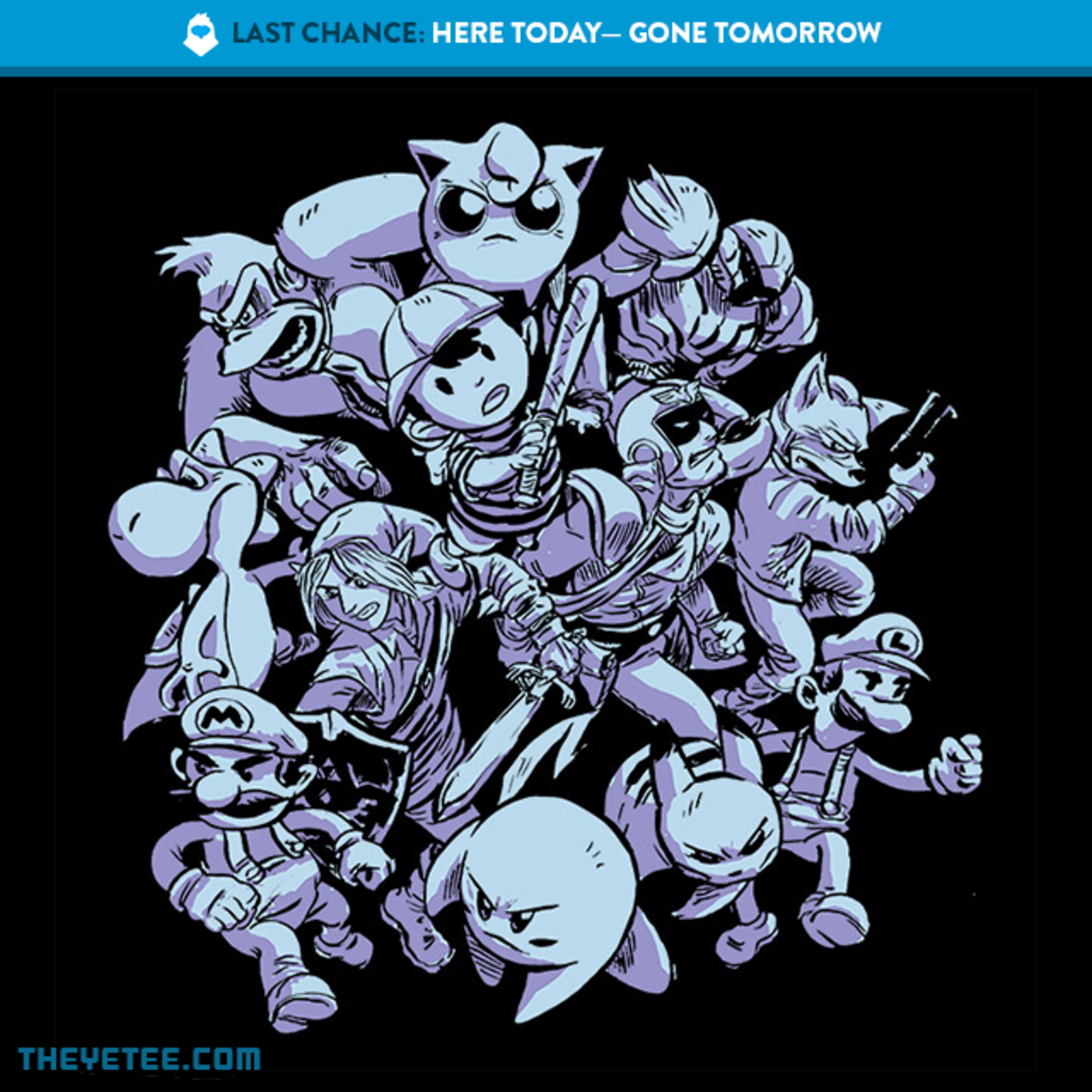 The Yetee: LAST CHANCE: Smash Attack