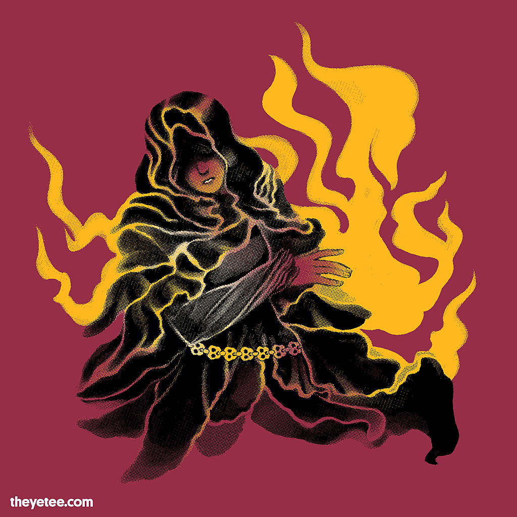 The Yetee: Gold-Hemmed