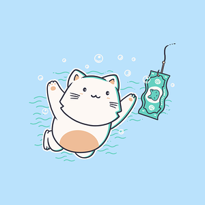 NeatoShop: Nevermind Cat