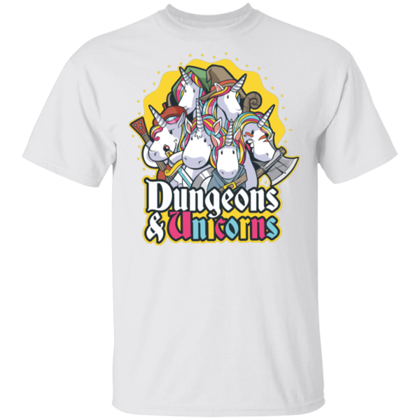 Pop-Up Tee: Dungeons And Unicorns