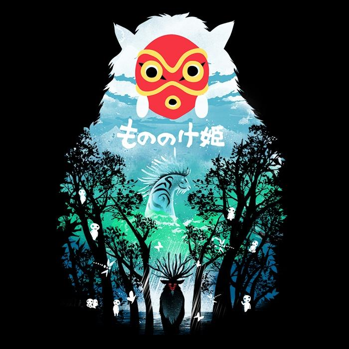 Once Upon a Tee: Princess in the Forest