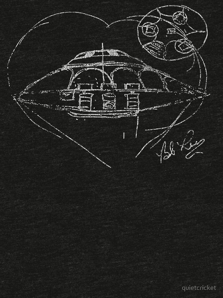 RedBubble: Bob Lazar UFO sketch Area 51 S-4