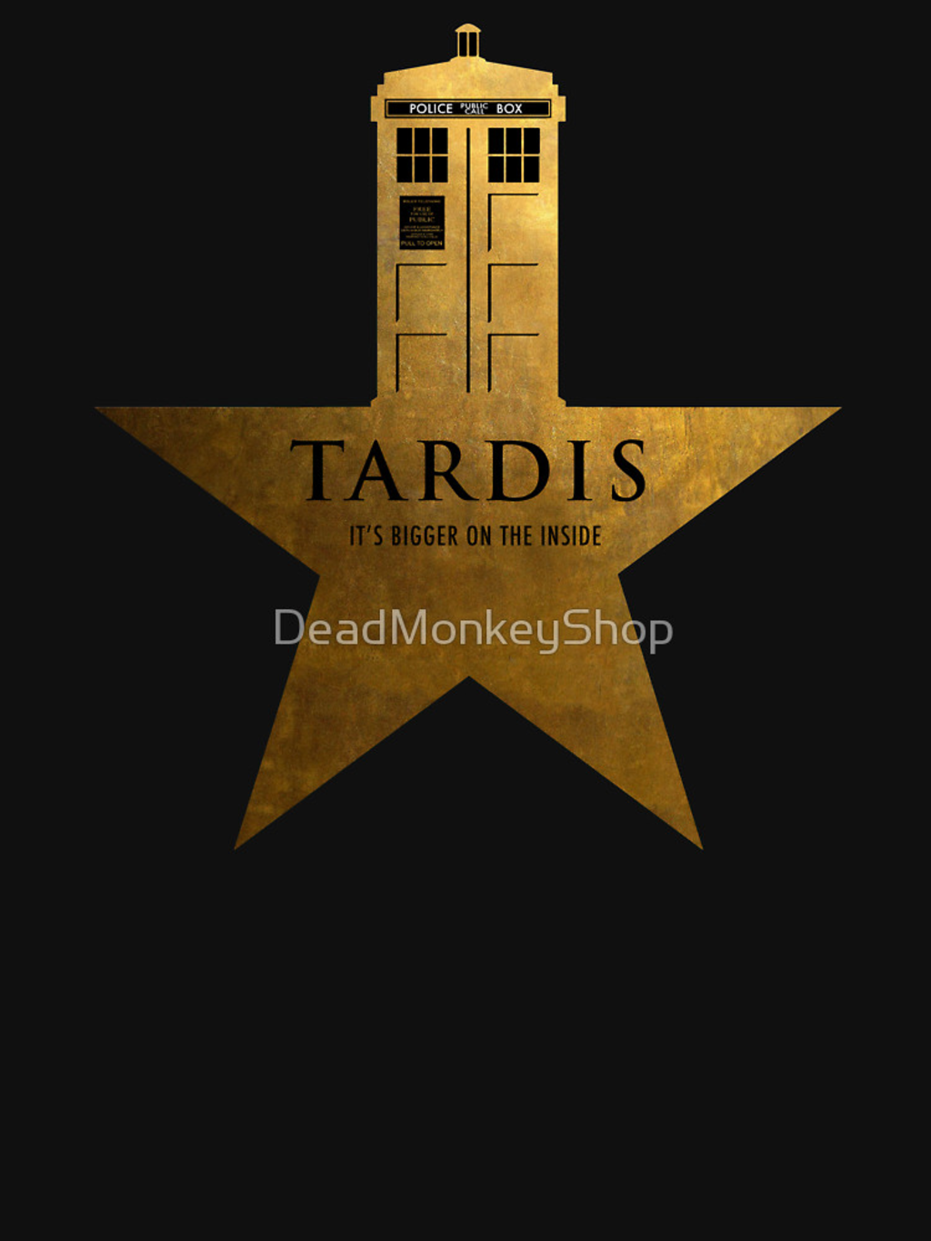 RedBubble: TARDIS - It's Bigger on the Inside
