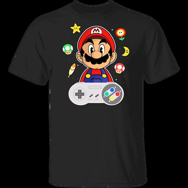 Pop-Up Tee: Lever Mario