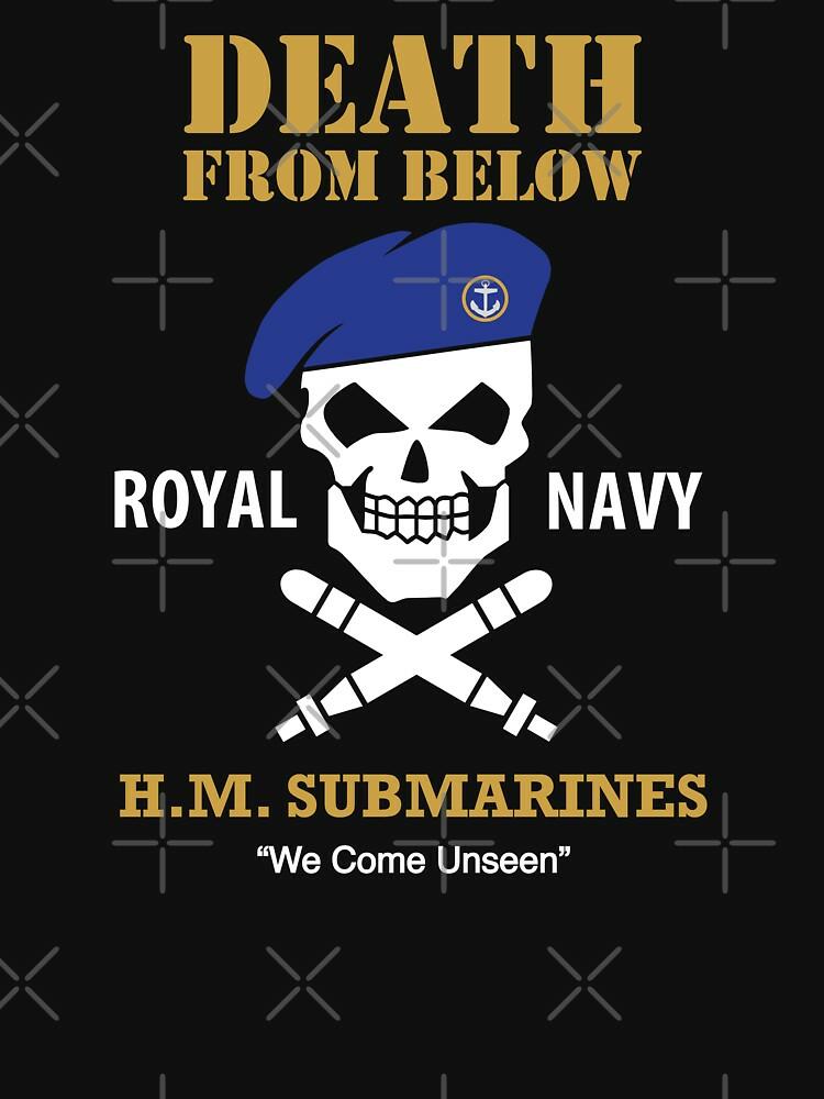 RedBubble: HM Submarines - Royal Navy