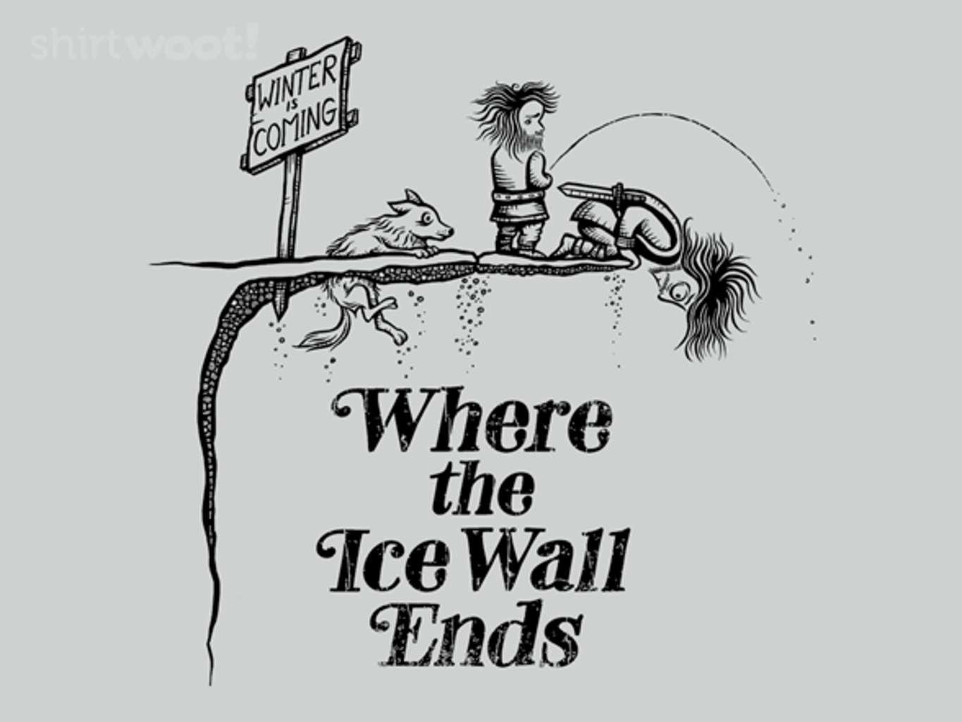 Woot!: Where the Ice Wall Ends