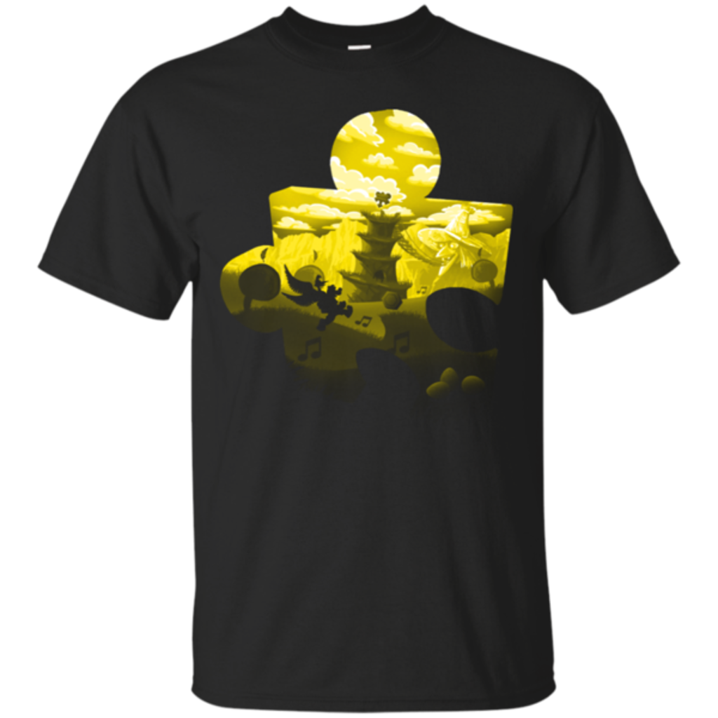 Pop-Up Tee: Banjo Kazooie Silhouette