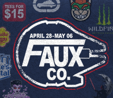 TeeFury: Faux Co. Collection