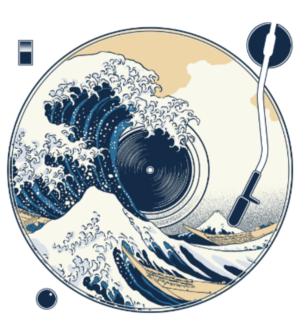 Shirt Battle: The Great Wave off Sound