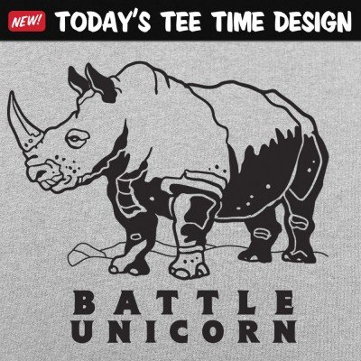 6 Dollar Shirts: Battle Unicorn