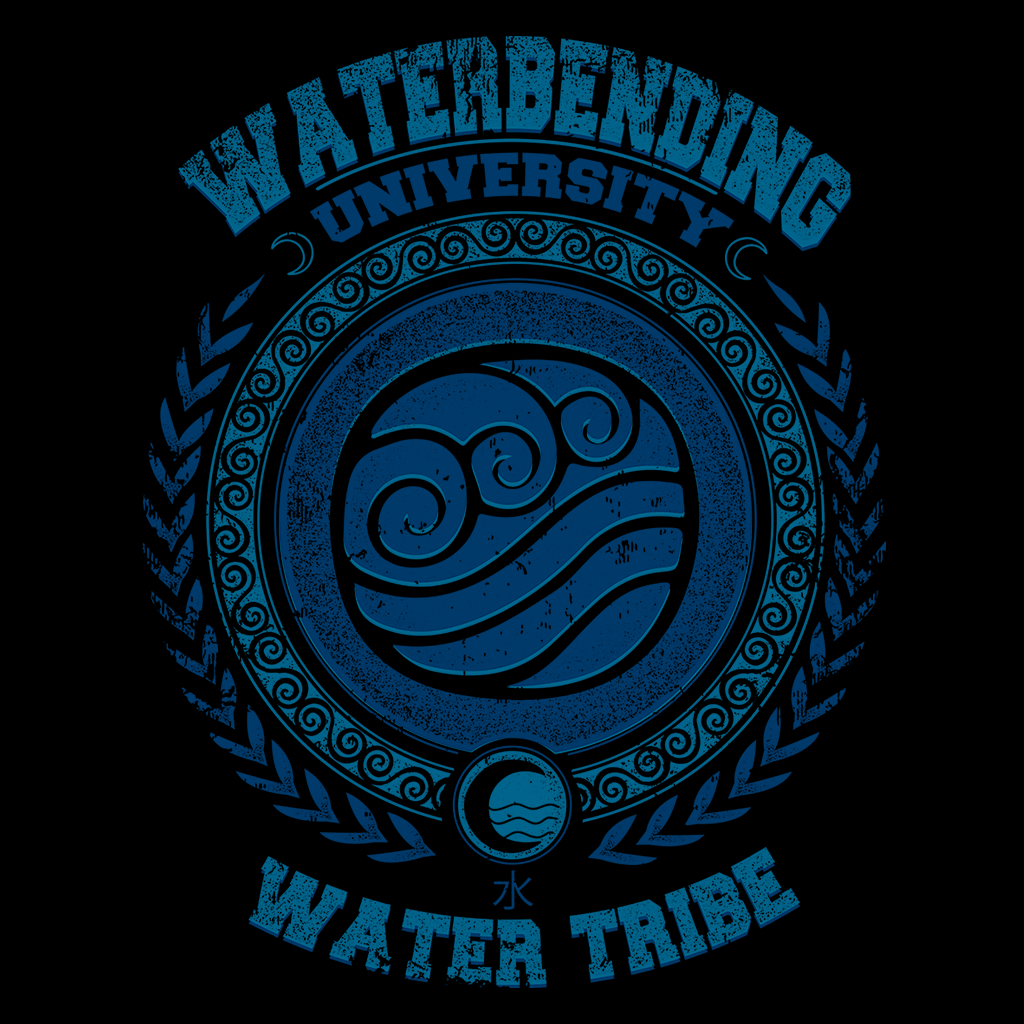 Pop-Up Tee: Waterbending University