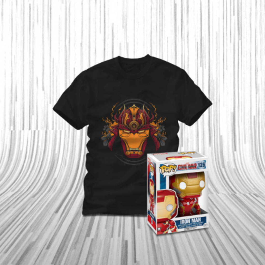 ShirtPunch: I Am Iron Man Bundle