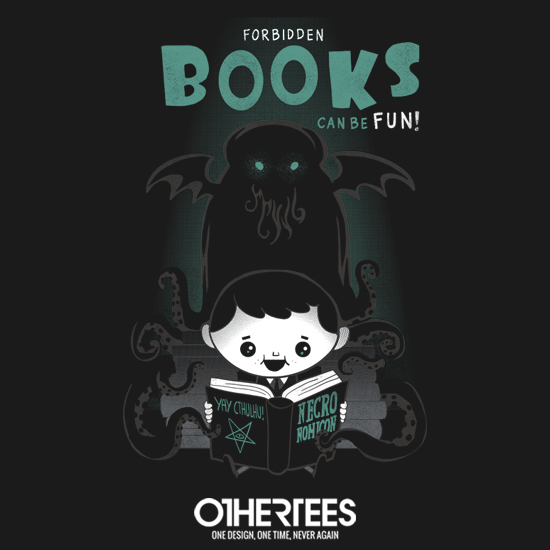 OtherTees: Forbidden Books Can Be Fun