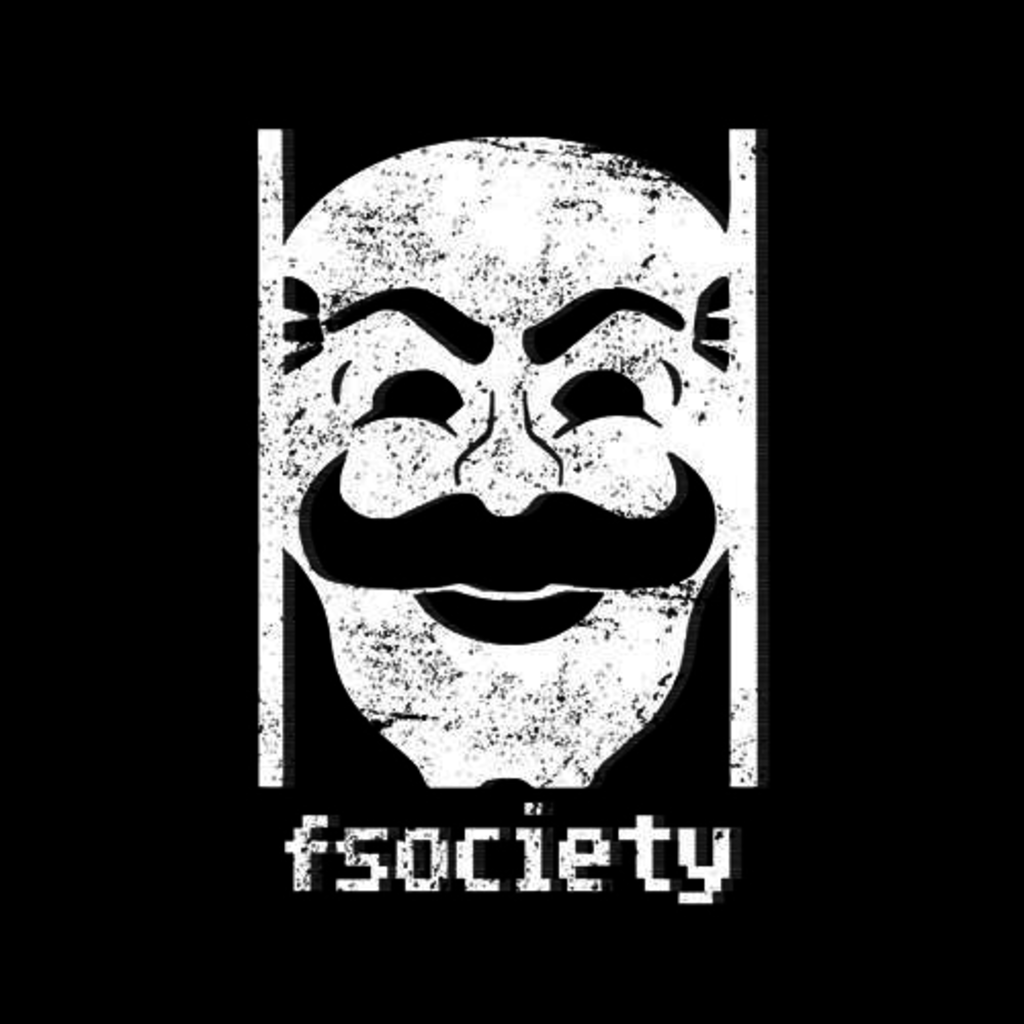 Five Finger Tees: Fsociety T-Shirt