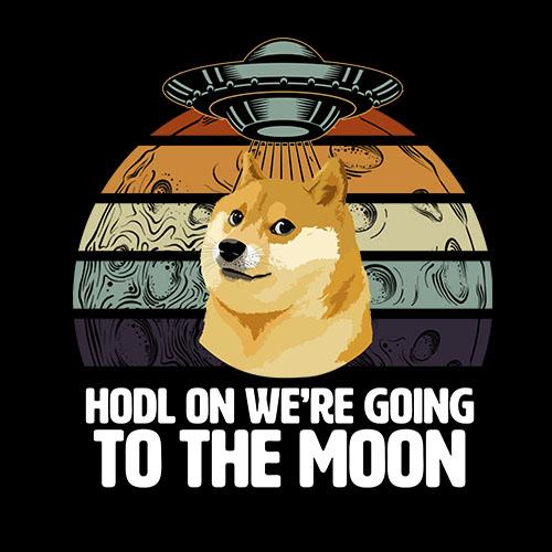 BustedTees: Dogecoin Hodl On