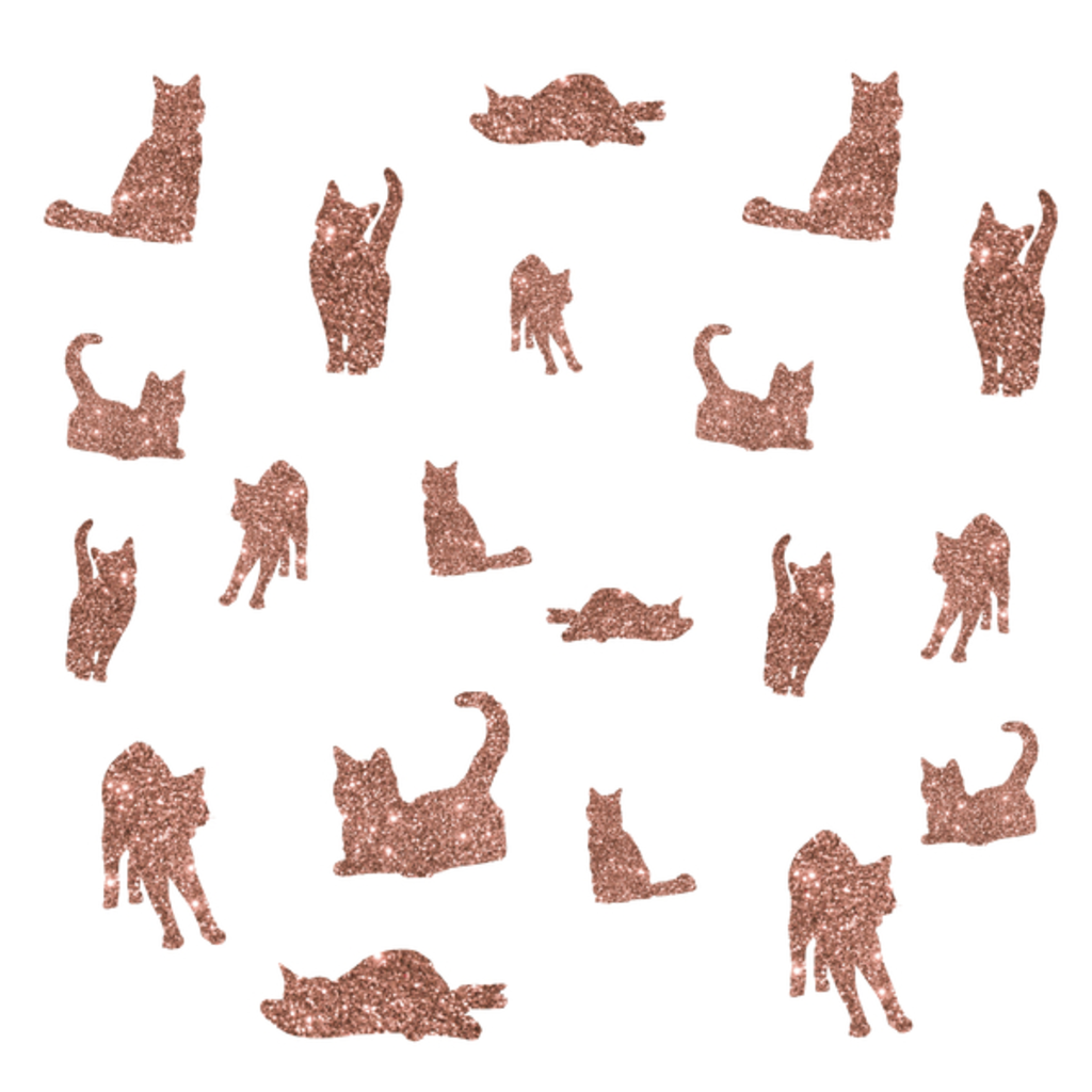 NeatoShop: I Love Glitter I Love Cat Pattern