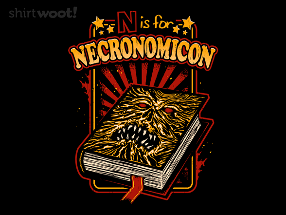 Woot!: N is For Necronomicon