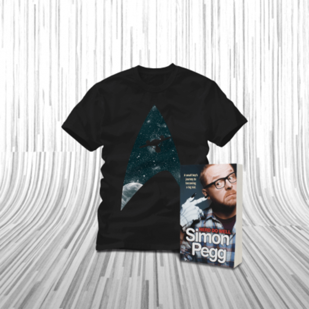 ShirtPunch: Simon Pegg Book Bundle