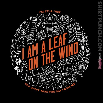 ShirtPunch: A Leaf on the Wind