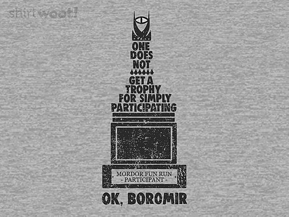 Woot!: OK Boromir