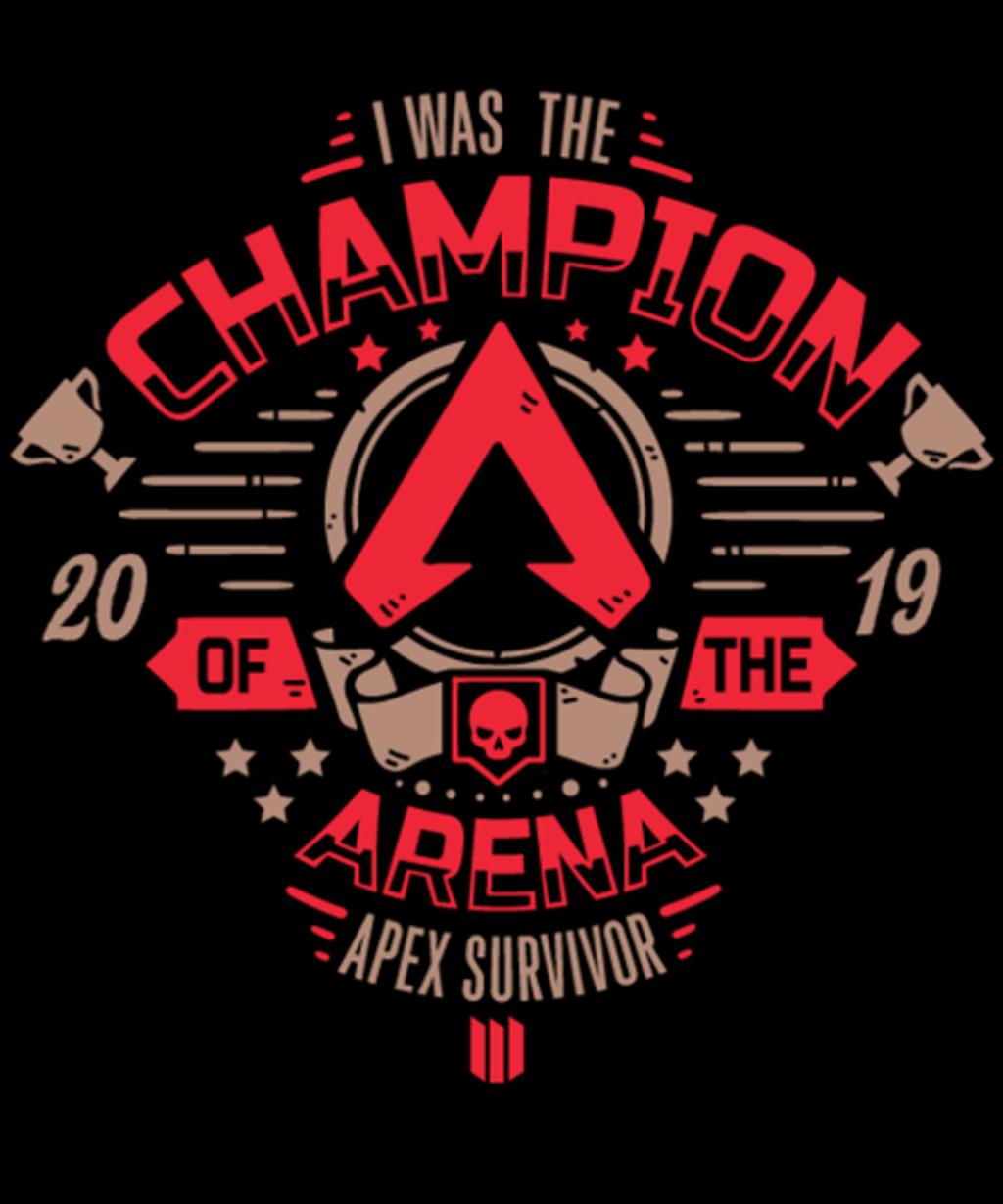 Qwertee: Apex Champion