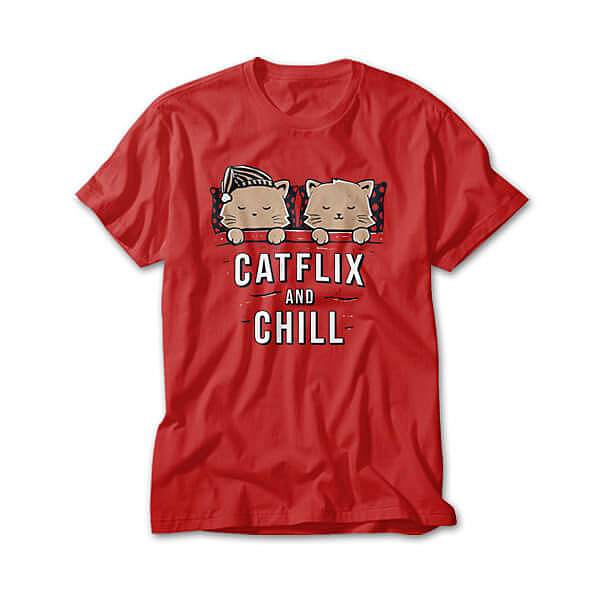 OtherTees: Catflix And Chill