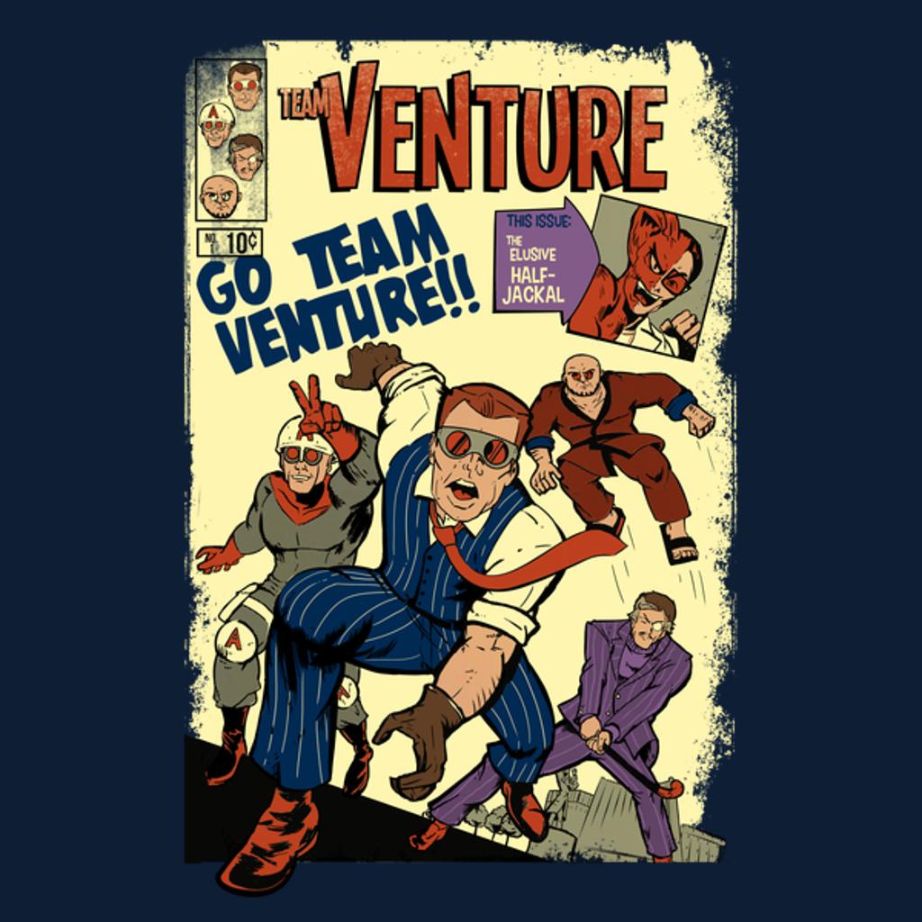 NeatoShop: Team Venture Comics