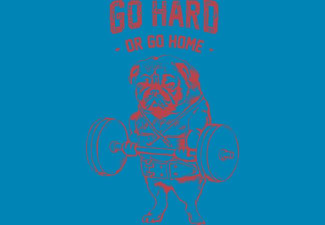 Design by Humans: Go Hard or Go Home