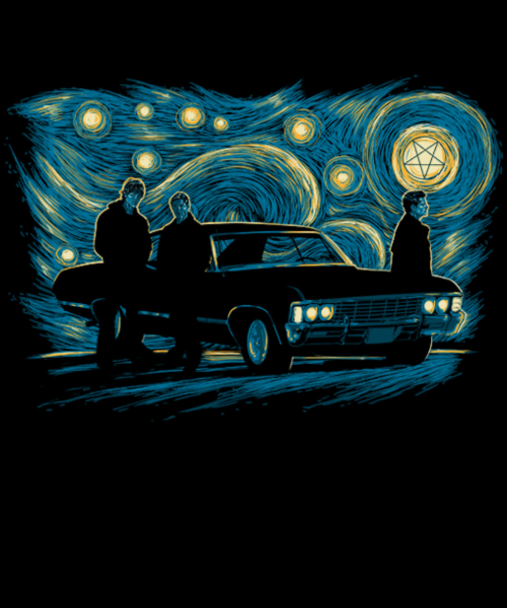 Qwertee: Supernatural Night